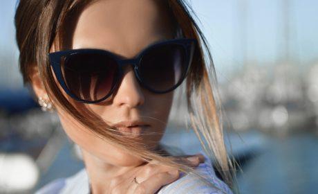 Niebieskie okulary